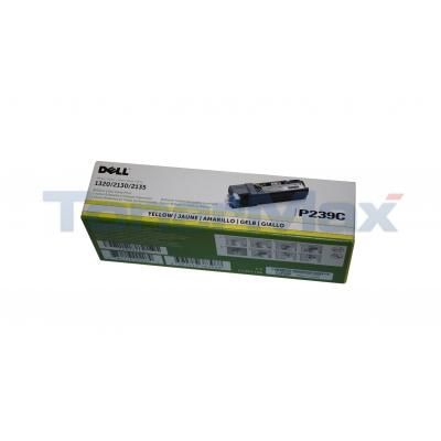 DELL 2135CN TONER CARTRIDGE YELLOW 1K